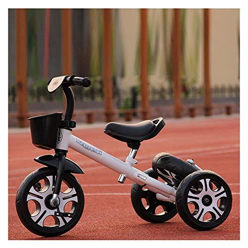 DRAGDS Pastillas de Bebé Cochecitos Livianos para Bebés para Niños Trible Y Bige Bige Bike, Tricícula Multifuncional Tricycle Tipcle Seguro Regalo por 3-6 Años,2