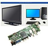 Sheuiossry T.S512.69 Digital TV Motherboard mit Fernbedienung Unterstützung DVB-T2 DIY...