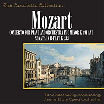 Wolfgang Amadeus Mozart: Concerto No. 14 For Piano And Orchestra In C-Minor, K. 491 / Piano Sonata In B-Flat, K. 333