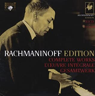 Serge Rachmaninov : L'oeuvre intégrale (B001IAGQXG) | Amazon price tracker / tracking, Amazon price history charts, Amazon price watches, Amazon price drop alerts