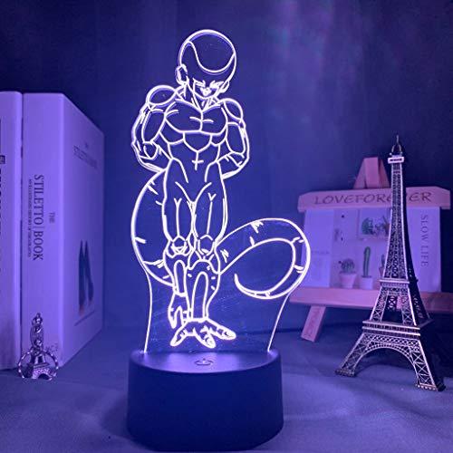 (Nur 1) Anime Dragon Ball Super Birusto LED Kinder Nachtlicht Kinder Schlafzimmer Dekoration Lampe Dragon Ball Z Tischlampe Geschenk