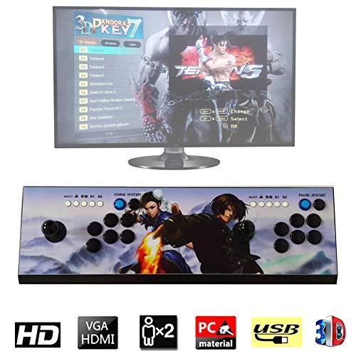 2177 Pandora Box 7 Arcade Video Game Console Full HD Retro Console Arcade Video Gamepad Expansion Games Smart List