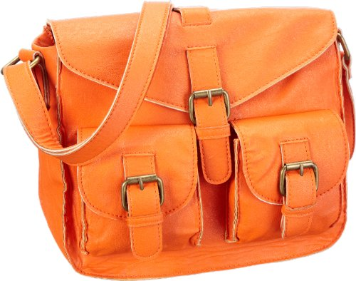 Friis & Company Damen Hold Bag Messengerbags, Orange (Orange 016), 24x23x10 cm