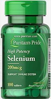 Puritans Pride Selenium 200MCG Tablets 100's