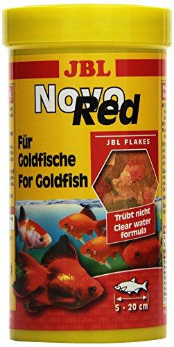 JBL NovoRed 30200 Alleinfutter für Goldfische, Flocken 250 ml
