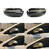Une paire Indicateur de miroir dynamique LED clignotant pour Golf MK6 GTI 6 R20 MKVI Touran