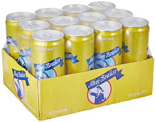 Ahoj-Brause Zitrone, 12er Pack, EINWEG (12 x 330 ml)