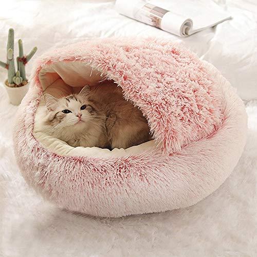 paomo Katzenhöhle für Katzen, abnehmbar, ohne Samt, für Katzen und andere kleine...
