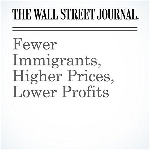Fewer Immigrants, Higher Prices, Lower Profits copertina