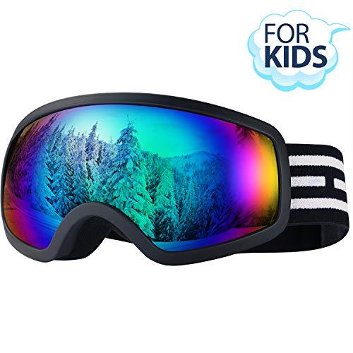 LOEO Kids Ski Goggles, Snowboard Ski Goggles for Kids, Youth, Teens,...