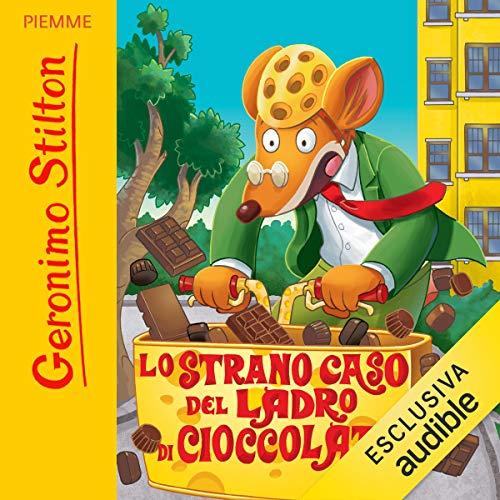 Lo strano caso del ladro di cioccolato copertina