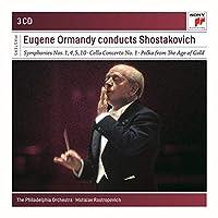 Conducts Shostakovich