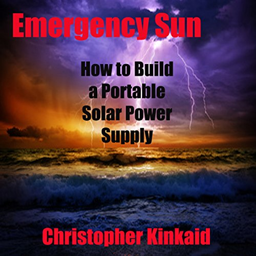 Emergency Sun audiobook cover art