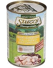 Stuzzy Comida Húmeda Natural para Perro Sabor Pollo - Paquete de 6 x 400 gr - Total: 2400 gr