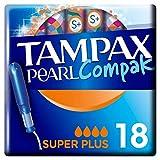 Tampax Compak Pearl Assorbenti Interni Super Plus con Applicatore