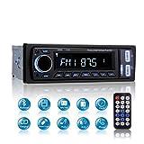 Autoradio Bluetooth, MEKUULA Radio de Voiture Stéréo Vidéo FM Radio 4x60W Poste, 1 DIN Radio de Voiture...