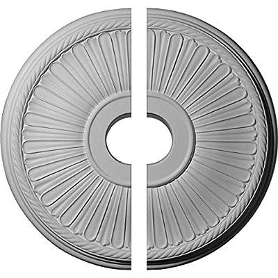 "Ekena Millwork 20 1/8""OD x 3 7/8""ID x 1 7/8""P Berkshire Ceiling Medallion"