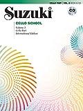 Suzuki cello school 2 (revised) - recueil + cd: Cello Part, Book & CD