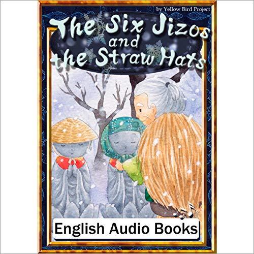 『The Six Jizos and the Straw Hats(かさじぞう・英語版)』のカバーアート