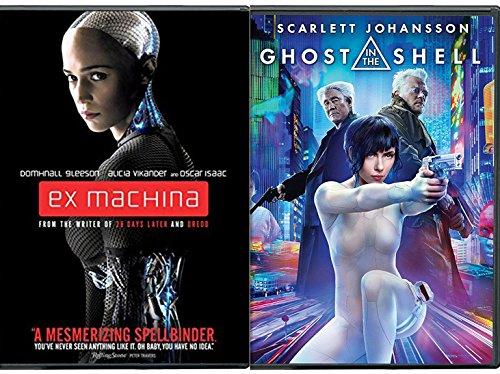 Ai Women Ghost in the Shell Scarlett Johansson & Ex-Machina Sci-Fi Double Feature