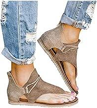 Women Espadrilles Platform Wedge Sandals Peep Toe High Heel Strappy Buckle Sandals Summer Beach Slip On Slippers Sandals Khaki