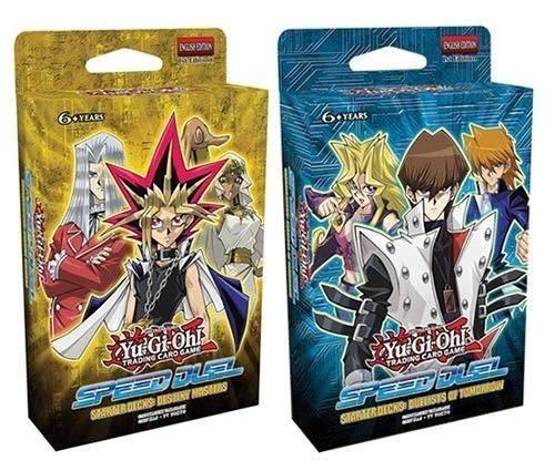 Yu-Gi-Oh! SS01/SS02 Speed Duel Starter Decks - Juego de 2 Maestros y duelistas del mañana
