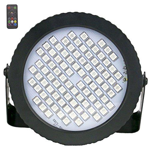 Disco Licht 88 LED, Latta Alvor Mini Discokugel Licht RGB Stroboskop Partylicht Strobe Lampe Dj Bühnenbeleuchtung Musik Lichteffekt (color)