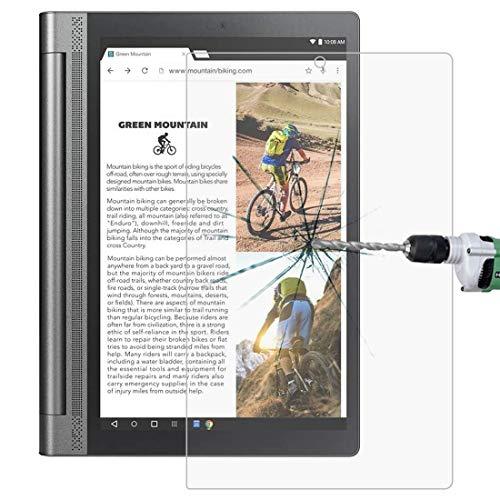 De Galen Accessory Kits - Protector de pantalla para tablet Lenovo Yoga Tab3 Pro-X90Y 10.1 9H 0.3mm a prueba de explosiones de vidrio templado