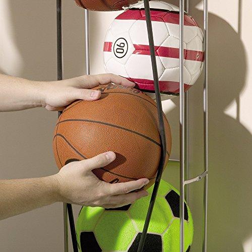 Rubbermaid FastTrack Garage Storage Vertical Ball Rack, Garage Organization, Stackable Ball Cage for Garage Organizer