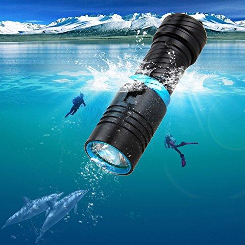 SUNSPOT 水中ライト ダイビング ライトCREE XM-...
