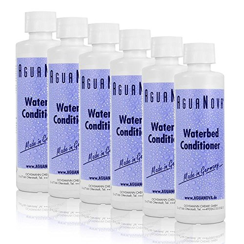 AguaNova 6x 250ml Wasserbett Konditionierer Conditioner