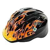 PALMY(パルミー) キッズヘルメット SG P-MV12 ファイア/ブラック M (頭囲 52cm~56cm)