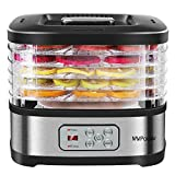 MVPower Food Dehydrator Machine Food Dryer for Beef Jerky, Fruits, Vegetables, Dog Treats, Herbs,...