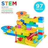 Product Image of the Best Choice Products 97-Piece Marble Maze Run Racetrack Puzzle Construction Game...