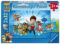 Ryder und die Paw Patrol. Puzzle 2 x 12 Teile
