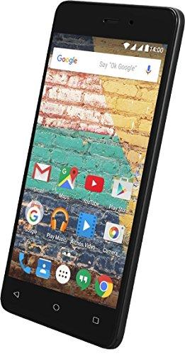 Archos 45BNeon Smartphone, entsperrt, 3G (Bildschirm: 11,4 cm/4,5Zoll)–8GB–Dual-SIM–Android, Schwarz