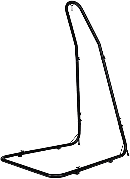 Giantex Adjustable Hammock Stand Height Adjust From 78 5 To 98 5 Solid Steel Construction Arc Hammock Stand For Hammock Air Porch Swing Chair