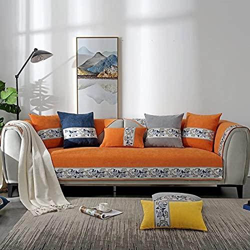 Funda de sofá Reversible Protector de Muebles Funda de sofá con Correas elásticas para Mascotas Niños Niños Perro Gato
