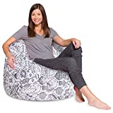 Posh Creations Bean Bag Chair for Kids, Teens, and Adults...