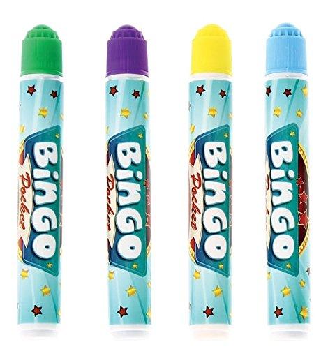 Pack DE 12 ROTULADOR Bingo Pocket para TACHAR CARTONES DE Bingo