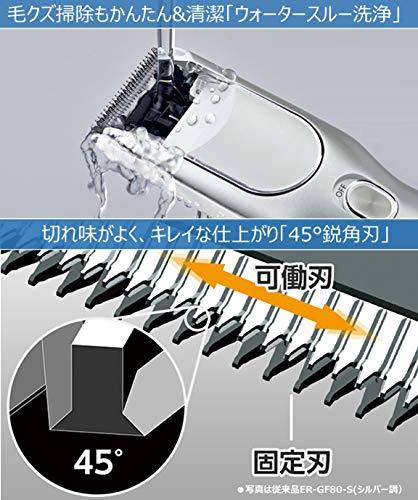 パナソニックバリカンヘアーカッター充電交流式白ER-GF41-W