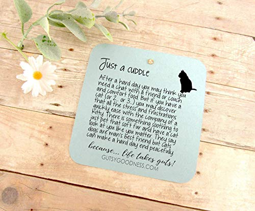Cat Keychain All She Needed Was Cuddle Pendant Gift Quote Kitty Lover Related Cat Jewelry For Women