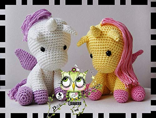 Baby Unicorn Free Amigurumi Pattern & Video Tutorial - Sueños ... | 379x500