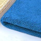 NIUFHW Tela suave como cachemira, cómoda y suave al plumón como tela de poliéster de cachemira, materia prima tela (color:...