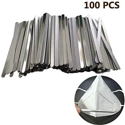 GSJDD Aluminium Strip Bridge der Nase 100Pcs 90mm für die Herstellung von DIY Crafts Zubehör Werkzeug (Klebstoff)