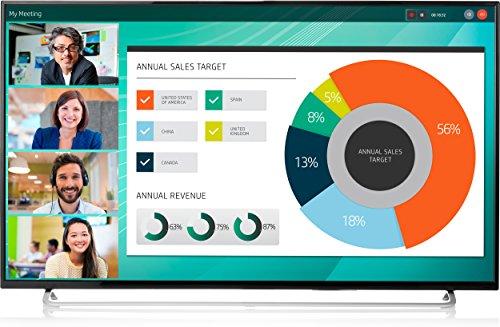 HP LD5512 LED display 139,7 cm (55') 4K Ultra HD Opaco Nero