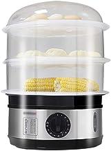 DYB Cuiseur à Vapeur Multifonctionnel à la Maison électrique cuiseur à Vapeur de Fruits de mer de Grande capacité à 3 Couches