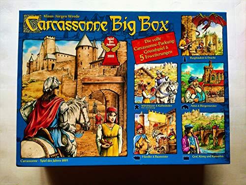 Schmidt Spiele Carcassonne Big Box - Grundspiel und 5 Erweiterungen