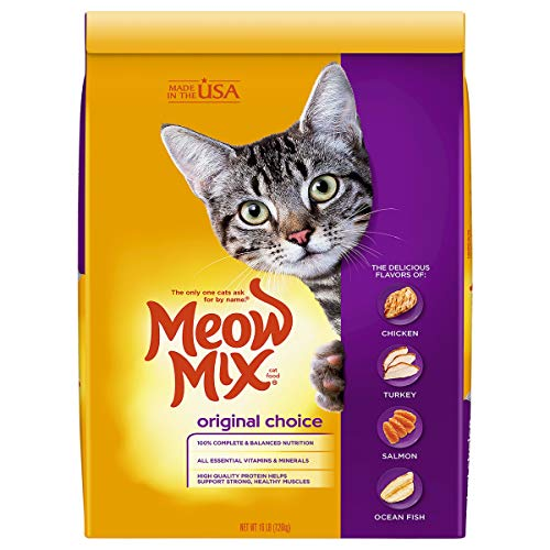 Meow Mix Original Choice Dry Cat Food, 16 Pounds
