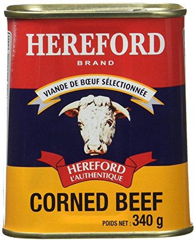 Hereford Corned-Beef 340g - Lot de 4